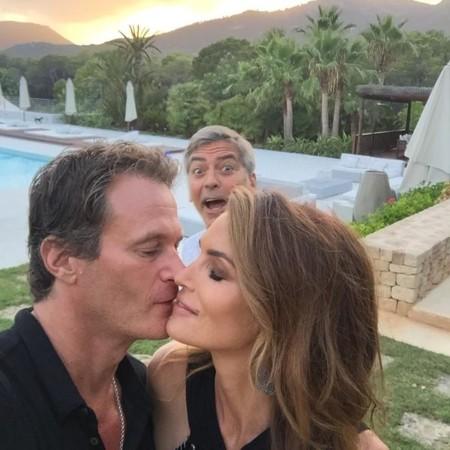 George Clooney ese amigo que te chafa las fotos románticas