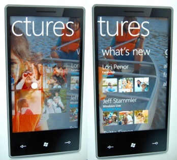 pictures microsoft windows phone 7 series