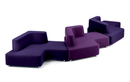 sofa puzzle european design