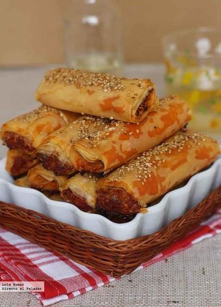 Picoteo Rollitos de Chorizo