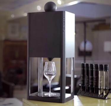 """Las monodosis llegan también al vino. Te presentamos a D-Vine, el """"sumiller perfecto"""""""