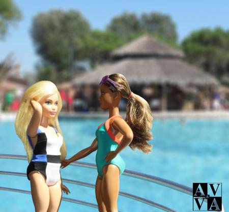 Adela Viki Montaje Barbies Piscina Resort