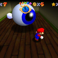 Super Mario 64: cómo conseguir la estrella Eye to Eye in the Secret Room de Big Boo's Haunt
