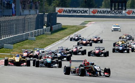 Salida Moscú FIA F3 2014