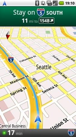 Google Maps Navigation, navegador GPS gratuito