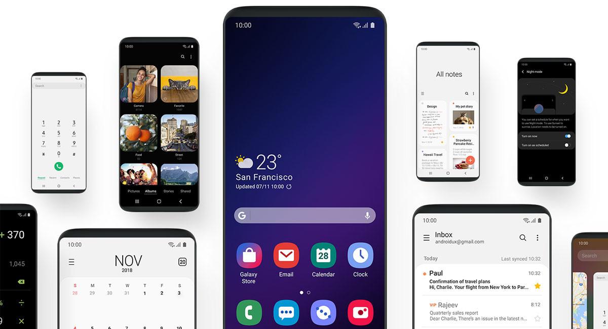 Los Samsung Galaxy S9 reciben ya la actualización a Android 9.0 Pie con la nueva One UI