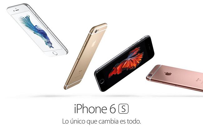 Image result for iphone 6s lanzamiento