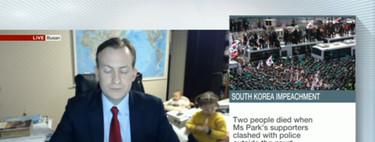 Que te entrevisten de la BBC, entren tus hijos y el vídeo acabe siendo para partirse de risa