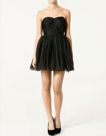 vestidos nochevieja: vestido tutu zara