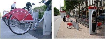 Bicicletas a un euro la hora en Barcelona en 2007