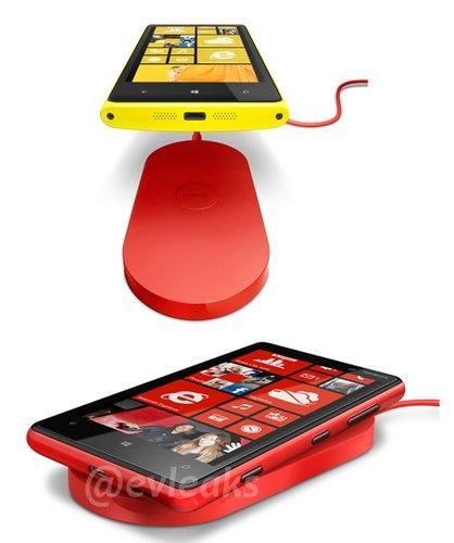 Carga inalámbrica Nokia Lumia