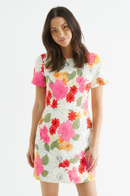 Vestido Sixties Flores
