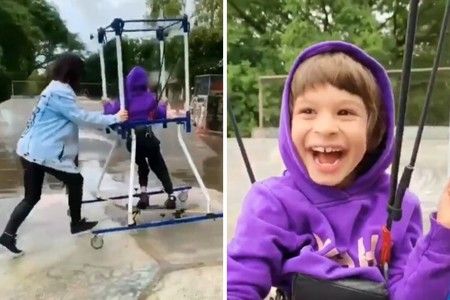 Nada es imposible: el vídeo viral de un niño con parálisis cerebral que cumple su sueño de practicar skateboarding