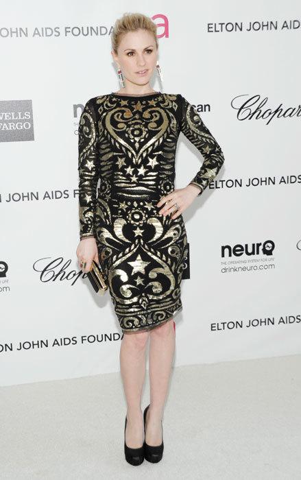 Anna Paquin fiesta Elton John Oscars 2012
