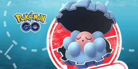 Pokémon GO celebrará esta semana un evento temporal de tan solo unas horas para atrapar a Clamperl