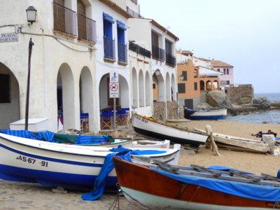 """Calella de Palafrugell, donde Serrat compuso """"Mediterráneo"""" en Girona"""