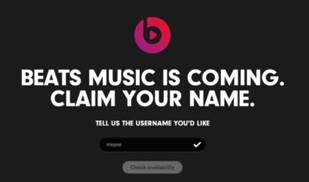 El servicio musical de Beats no llegará hasta enero, pero ya podemos reservar nuestro nombre de usuario
