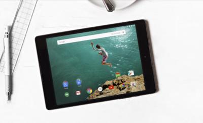 Nexus 9, el nuevo tablet de Google
