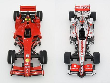 ¿Ferrari o McLaren?