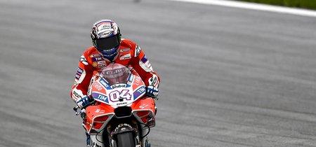 La seguridad del Red Bull Ring vuelve a preocupar en MotoGP. No hay agarre sobre mojado
