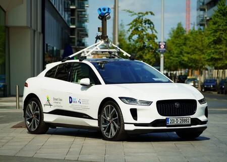 Jaguar Ipace Google Street View 2