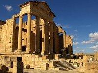 Las ruinas de Sbeïtla