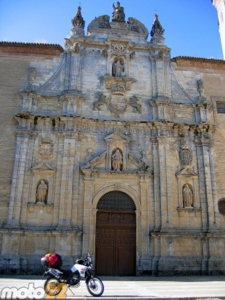 Derbi Terra Adventure 125 Fromista-Santiago de Compostela