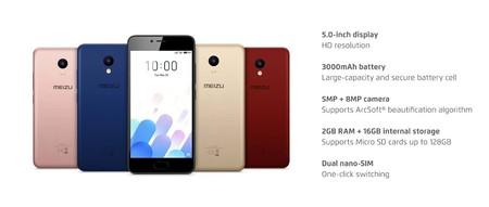 Meizu M5C, en versión global, por 75,11 euros y envío gratis