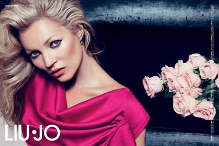 Kate Moss imponente en la campaña Liu·Jo Otoño-Invierno 2012/2013