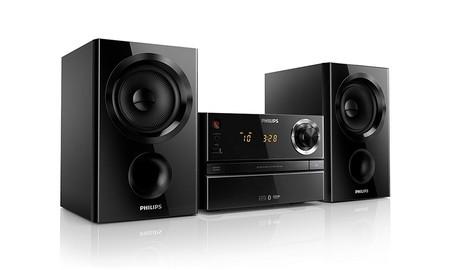 Philips BTM1360/12 una completa microcadena, hoy, a un precio muy pequeño: sólo 99 euros en Amazon