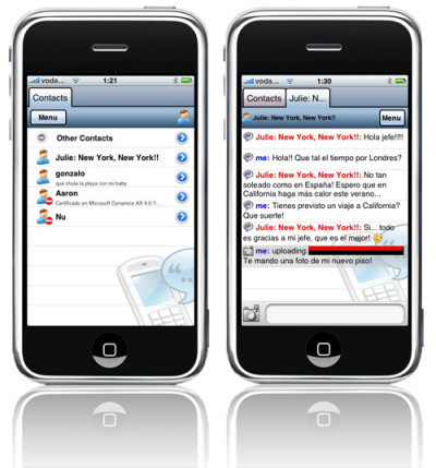 Agile Messenger: Más mensajería instantánea para iPhone / iPod touch
