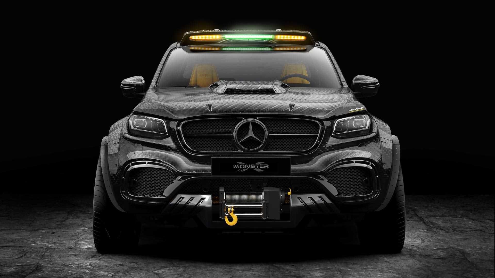 Foto de Mercedes-Benz Clase X Exy Monster X Concept (3/7)