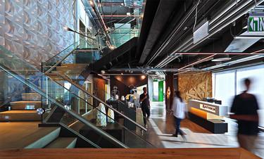 Sorprendente remodelación de las oficinas de Autodesk en Tel Aviv