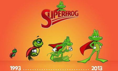Amigueros, tenemos 'Superfrog HD' camino de PS3 y PS Vita