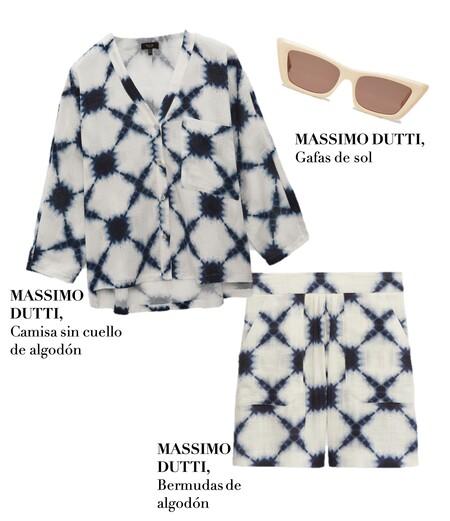 Look Massimo Dutti Tie Dye