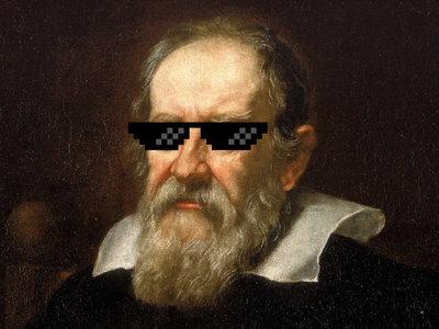 La historia de cómo Galileo hizo avanzar enormemente la ciencia con un estúpido truco literario