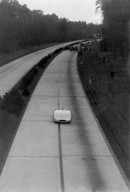 Mercedes Benz 1936 Record Velocidad 115