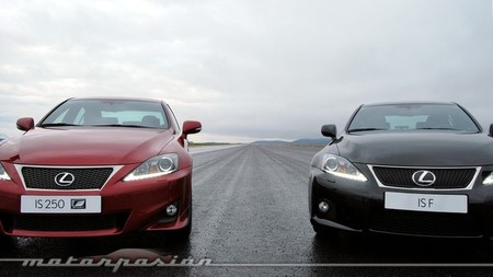 Lexus IS 250 F Sport y Lexus IS F