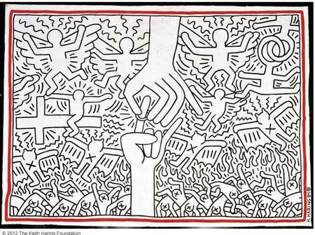 El arte pop de Keith Haring en Udine