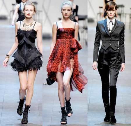 Dolce & Gabbana Primavera-Verano 2010 en la Semana de la Moda de Milán