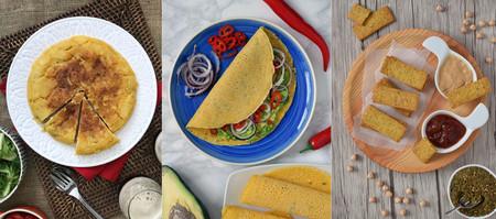 Las 19 mejores recetas con harina de garbanzos para reducir carbohidratos y sumar proteínas a tu dieta