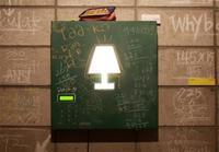 Una lámpara para personas con mente matemática