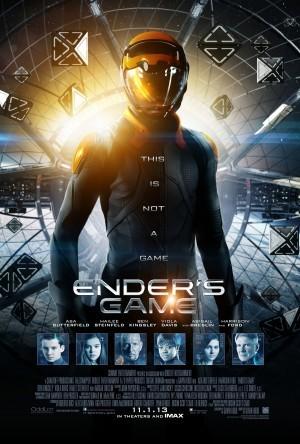 Cartel de 'El juego de Ender'