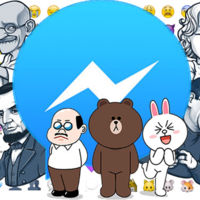 Facebook sigue copiando ideas, los stickers de pago llegan también a su Messenger