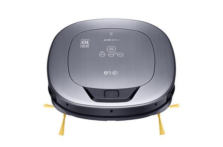 LG Hombot Square Turbo es la propuesta de LG para tener limpio nuestro hogar y poder vigilarlo a distancia