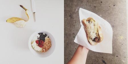 Las fotos de comida también pueden ser minimalistas