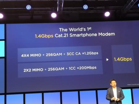 Huawei Kirin 980 Redes Lte 21