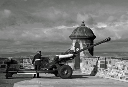 Cañón Castillo Edimburgo