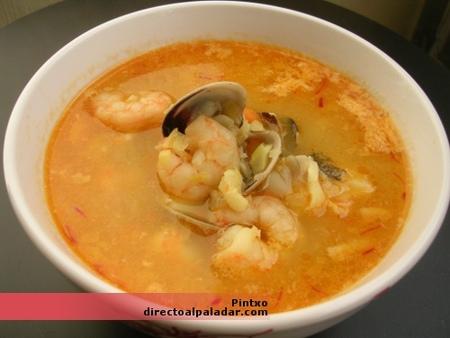 Sopa de pescado receta de sopa de pescado for Como cocinar pescado
