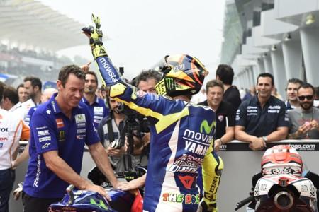Valentino Rossi sancionado: saldrá último en Valencia